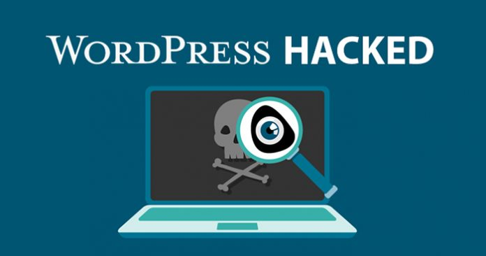 WordPress Website Hacked