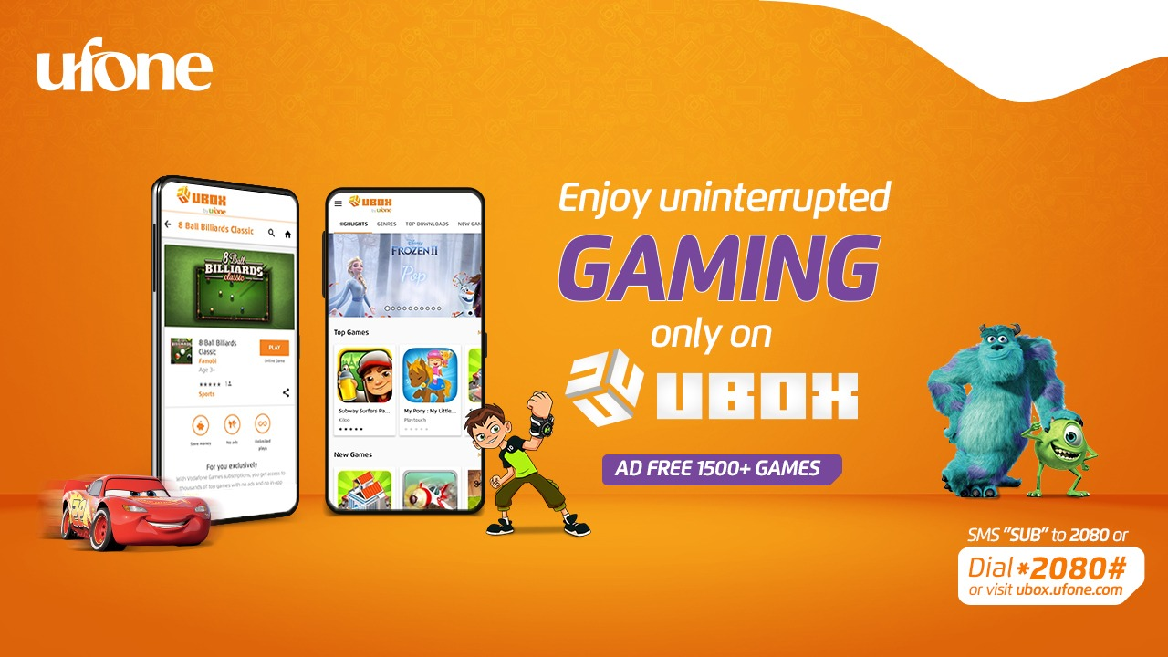 Ufone launches UBox to strengthen gaming ecosystem in Pakistan 6